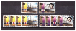 Antillen / Antilles 1992 X5 Columbus Sailing-boat Stamp Expo'92 Used - Curacao, Netherlands Antilles, Aruba