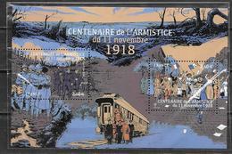 France 2018 Bloc Feuillet N° F5284 Neuf Armistice De 1918 à La Faciale + 10% - Neufs