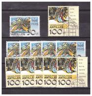 Antillen / Antilles 1992 X6 Christmas Stamps Used - Curacao, Netherlands Antilles, Aruba