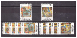 Antillen / Antilles 1993 X5 Christmas Mozaiek Maia With Child Used - Curacao, Netherlands Antilles, Aruba