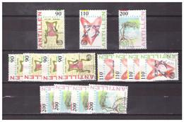 Antillen / Antilles 1994 X5 75 Year ILO International Labour Organisation Used - Curacao, Netherlands Antilles, Aruba