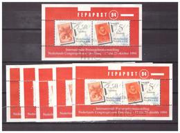 Antillen / Antilles 1994 X6 Stamp On Stamp S/S Used - Curacao, Netherlands Antilles, Aruba