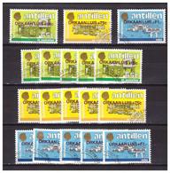 Antillen / Antilles 1995 X6 Hurricane Luis Relief Fund Used - Curacao, Netherlands Antilles, Aruba