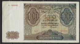 Pologne 100 Zlotych 1.8.1941 - Polonia