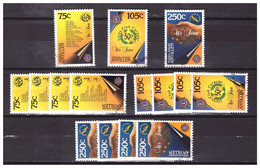 Antillen / Antilles 1996 X5 Lions Club Used - Curacao, Netherlands Antilles, Aruba