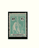 MOZAMBIQUE STAMP - 1922 CERES P.LISO Perf:12X11½ Md#242 MLH (LMZ#64) - Mozambique