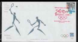 Mexico FDC 2004 Athens Olympic Games (LA38) - Verano 2004: Atenas
