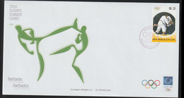 Barbados FDC 2004 Athens Olympic Games (LA38) - Verano 2004: Atenas