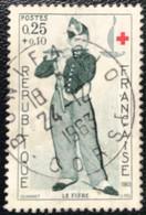 France - République Française - W1/18 - (°)used - 1963 - Michel 1455 - Schilderij - Usados