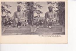 JPN10  --  KAMAKURA  --  BUDHA  --  STEREO CARD - Non Classificati