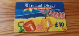 Prepaid Phonecard Ireland Direct - Shell - Irlanda