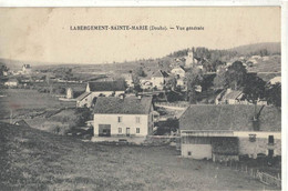 CPA  LABERGEMENT - ST-MARIE   Vue Générale - Andere Gemeenten