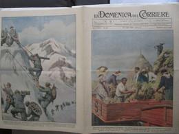 # DOMENICA DEL CORRIERE N 29 / 1934 MUSSOLINI SULL'AGRO PONTINO / ALPINI - Prime Edizioni