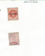 ZULULAND - 1888-1894 - 2 Stamps - Mint & Used Hinged - Autres - Afrique
