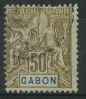 Gabon (1904) N 28 (o) - Used Stamps