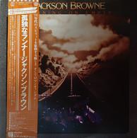 * LP *  JACKSON BROWNE - RUNNING ON EMPTY (Japan 1977 EX+) - Country En Folk
