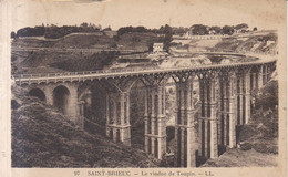 Saint Brieuc Le Viaduc De Toupin  1935 - Saint-Brieuc