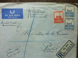 1937  Letter  TEL AVIV  Used - Palestina