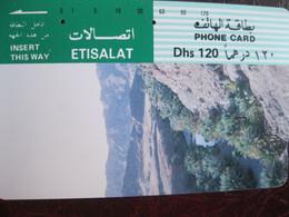 Télécarte émirats Arabes Unis - Emirats Arabes Unis