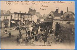 59 - Nord - Valenciennes - Marche Aux Legumes Et Gare Aux Tramways  (N5538) - Valenciennes