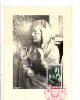CARTE MAXIMUM 1973 CROIX ROUGE - TONNERRE - 1970-79