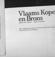 25/07/K//  VLAAMS KOPER EN BRONS     COPY  VAN BOEK  126 P   ZEER GOED OVERZICHT + AFBEELDINGEN - Unclassified