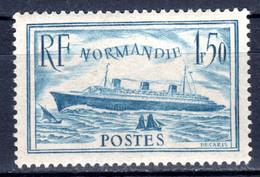 """FRANKREICH, 1936 """"Blaues Band"""" Durch Die """"Normandie"""", Postfrisch ** - Nuovi"""