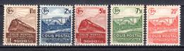 FRANKREICH, Postpaketmarken 1942, Postfrisch ** - Mint/Hinged