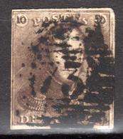 BELGIEN, 1849 König Leopold I. Mit Epauletten, Gestempelt - 1849 Epaulettes