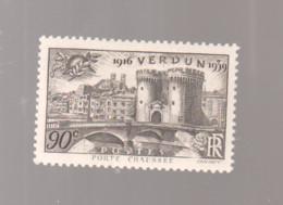 """FRANCE / 1939 / Y&T N° 445 ** : """"Touristique"""" (Verdun (Porte Chaussée) - Meuse) X 1 - Nuovi"""