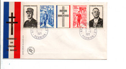 REUNION HOMMAGE GENERAL DE GAULLE 1971 - Covers & Documents