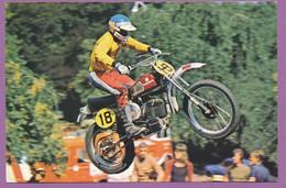 MOTOCROSS - Heikki Mikkola Husqvarna 4 Fois Champion Du Monde 500cc - 1974, 1977, 1978 250cc - 1976 - Motociclismo