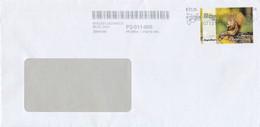 BRD / Bund Heilbronn Privatpost RegioMail 75 C. Eichhörnchen + Stempel Taube 2021 - Private & Local Mails