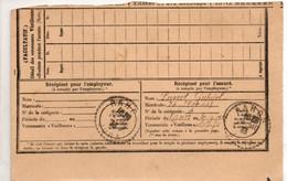 JURA    :   RAHON   Recette Distribution  1933 - Manual Postmarks