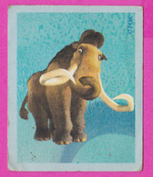266045 / # 18 Trading Card - Animals FOX Elephant Prehistoric Chipicao - Ice 2 Age - 4.9 X 4.0 Cm ., Bulgaria Bulgarie - Other