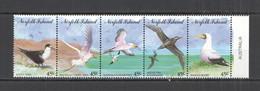 AA492 1994 NORFOLK ISLAND FAUNA BIRDS #569-73 1SET MNH - Marine Web-footed Birds