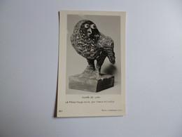 LYON  -  69  -  Musée  De Lyon    -  Le Hibou Rouge Strié Par Pablo PICASSO   -  Sculpture  -  RHONE - Otros
