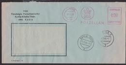 Kahla Porzellan ZKD-AFS Aptiert 21.11.66, VEB Vereinigte Porzellanwerke Kahla-Könitz Thüringen - Official