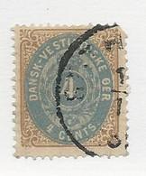23806 ) Danish West Indies 1874 - Deens West-Indië