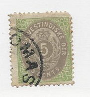 23811 ) Danish West Indies 1874 - Deens West-Indië