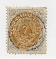 23812 ) Danish West Indies 1874 - Deens West-Indië