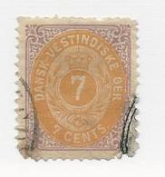 23814 ) Danish West Indies 1874 - Deens West-Indië