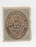 23816 ) Danish West Indies 1874 - Deens West-Indië