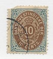 23819 ) Danish West Indies 1874 - Deens West-Indië