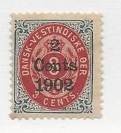 23831 ) Danish West Indies 1902 Mint No Gum - Deens West-Indië