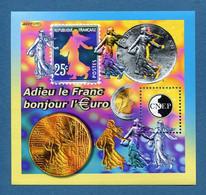 ⭐ France - Bloc Souvenir CNEP - YT N° 35 ** - Neuf Sans Charnière - 2002 ⭐ - CNEP
