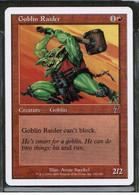 "MAGIC The GATHERING  ""Goblin Raider""---7th EDITION (MTG-102-8) - Unclassified"