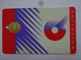 CARTE A PUCE CHIP CARD CARTE FIDÉLITÉ QUICKLINK - Gift And Loyalty Cards