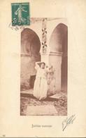 CPA - ALGERIE - INTERIEUR MAURESQUE (PHOTO J.GEISER) - Escenas & Tipos