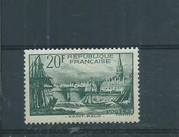 FRANCE - Port De SAINT MALO N° 394 Neufs  Légère Trace De Charnière (côte45€) - Nuovi